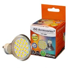GU10 LED Bulb 5W Spot Lamps with 24 x 5050 SMD chips in DAY WHITE = 50W - 60W Halogen